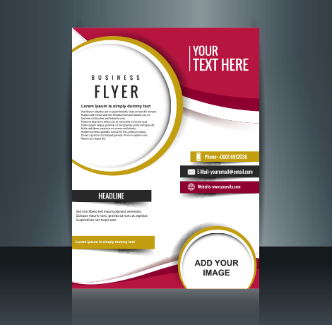 business promotional flyers